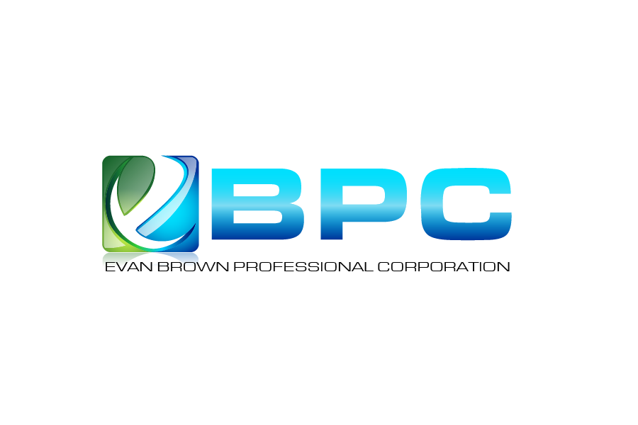 Logo Design by Private User - Entry No. 29 in the Logo Design Contest Inspiring Logo Design for Evan Brown Professional Corporation.