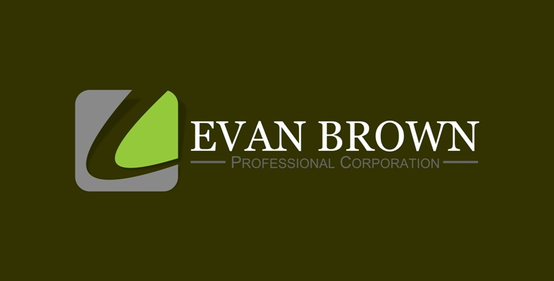 Logo Design by Crispin Jr Vasquez - Entry No. 36 in the Logo Design Contest Inspiring Logo Design for Evan Brown Professional Corporation.