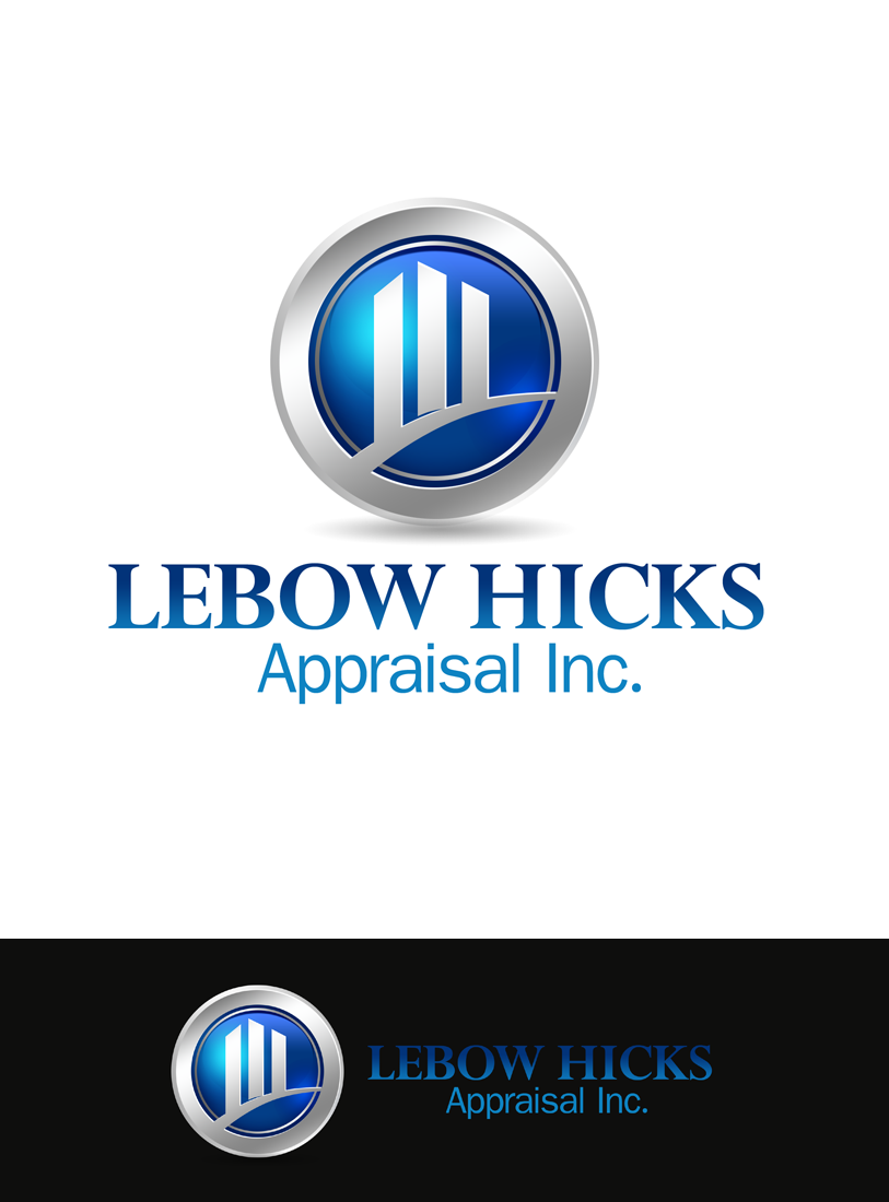 Logo Design by Private User - Entry No. 77 in the Logo Design Contest Fun Logo Design for Lebow, Hicks Appraisal Inc..