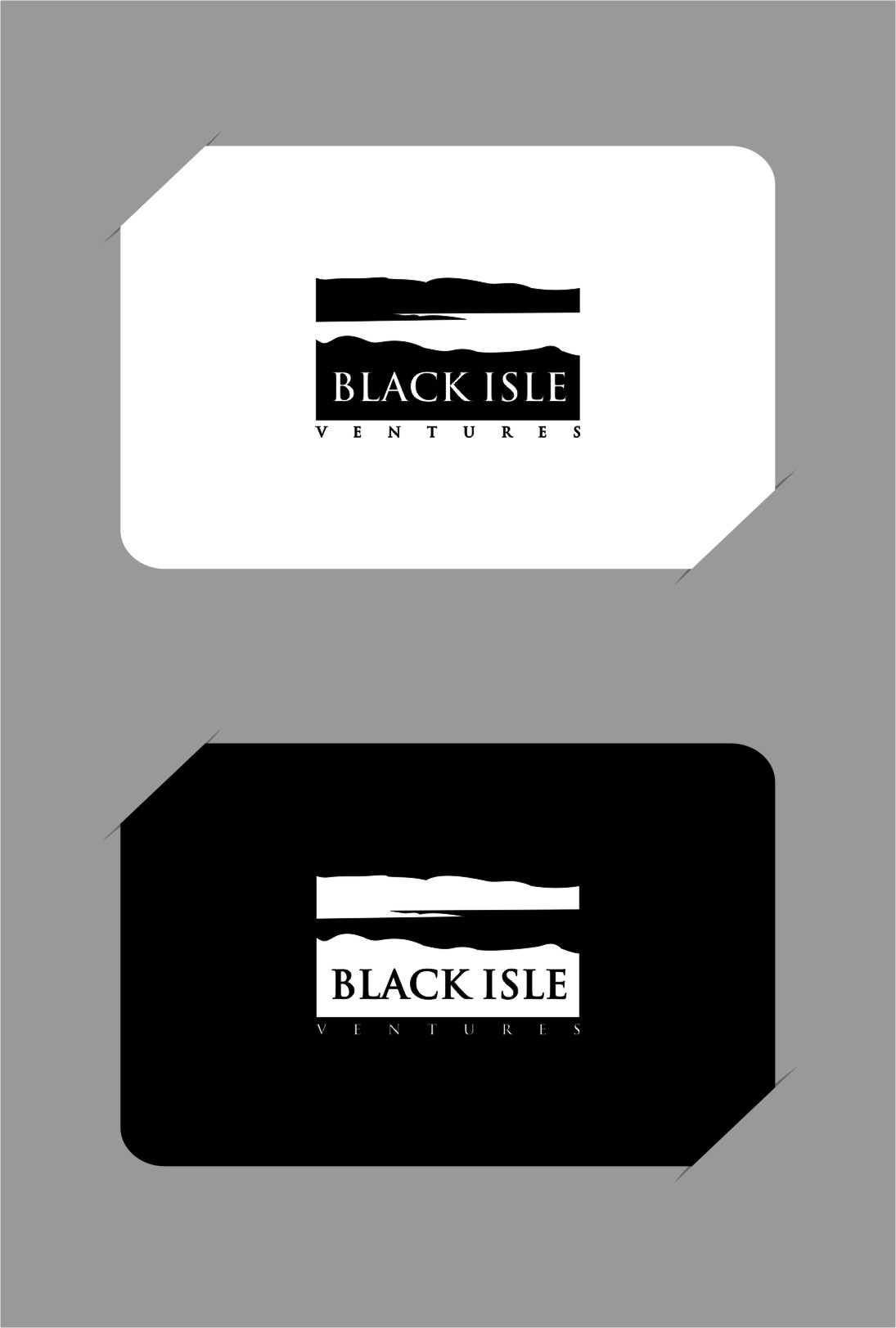 Logo Design by RasYa Muhammad Athaya - Entry No. 98 in the Logo Design Contest Creative Logo Design for Black Isle Ventures.