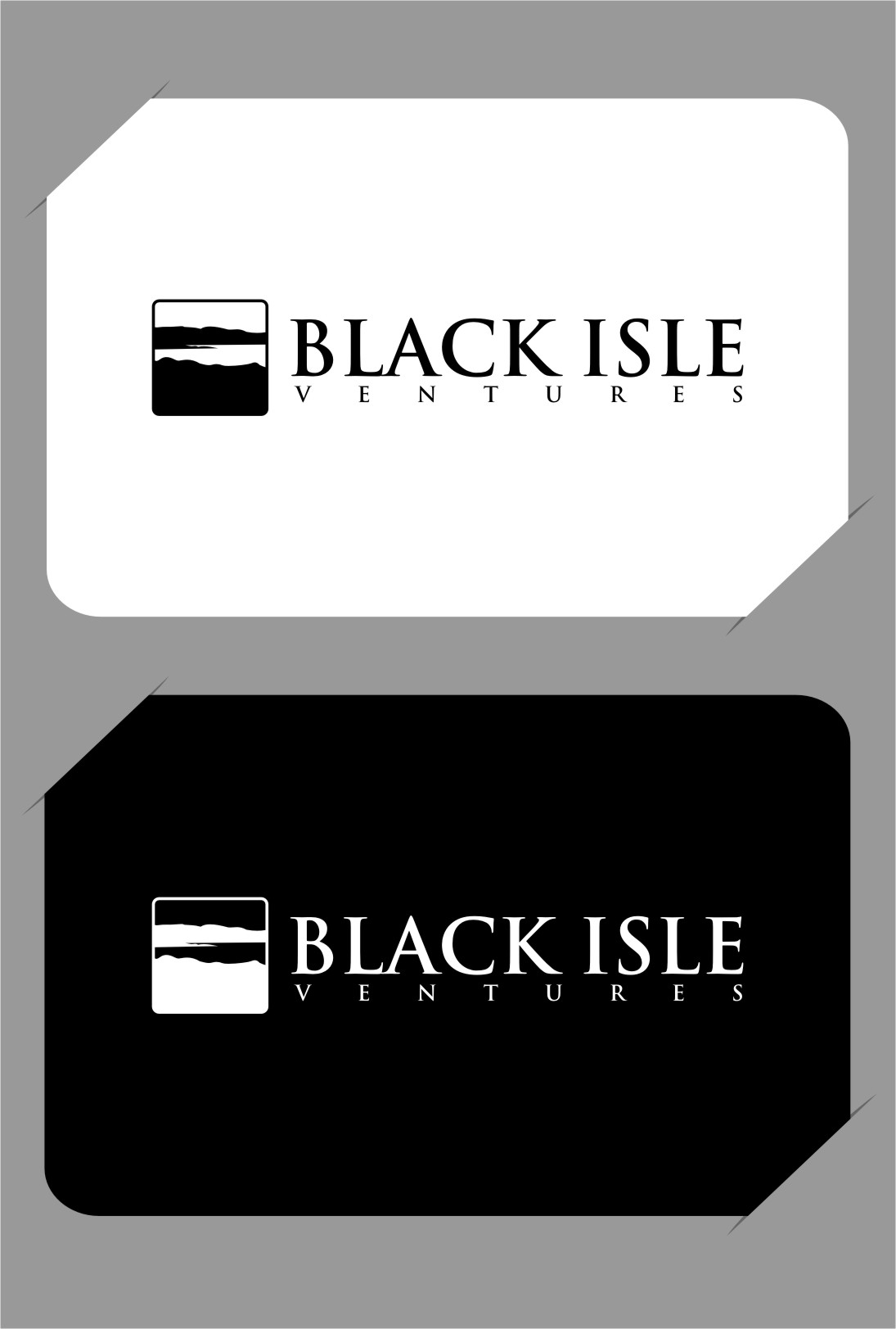 Logo Design by RasYa Muhammad Athaya - Entry No. 99 in the Logo Design Contest Creative Logo Design for Black Isle Ventures.