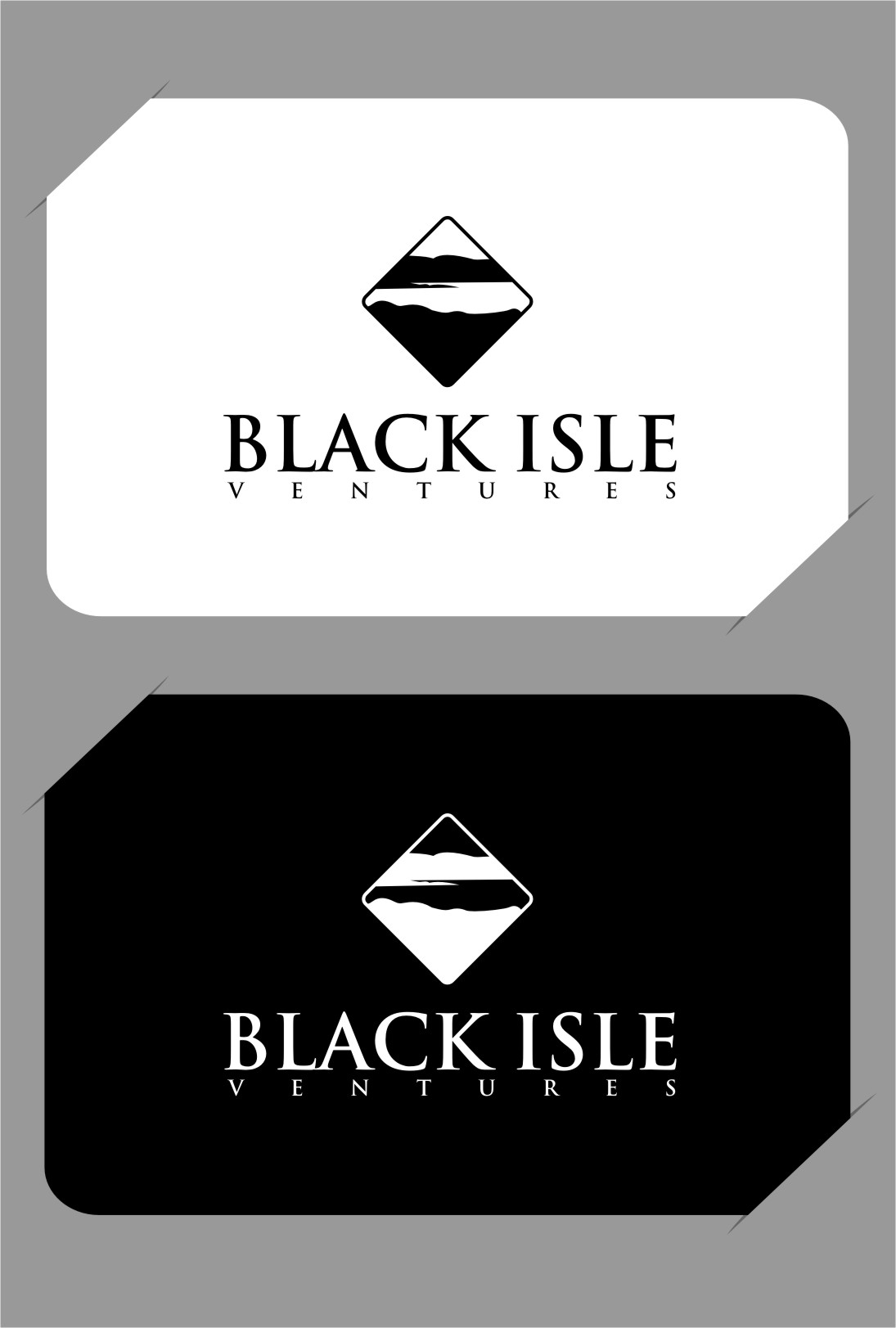 Logo Design by RasYa Muhammad Athaya - Entry No. 100 in the Logo Design Contest Creative Logo Design for Black Isle Ventures.
