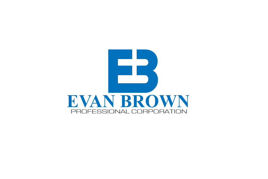 Logo Design by brands_in - Entry No. 37 in the Logo Design Contest Inspiring Logo Design for Evan Brown Professional Corporation.