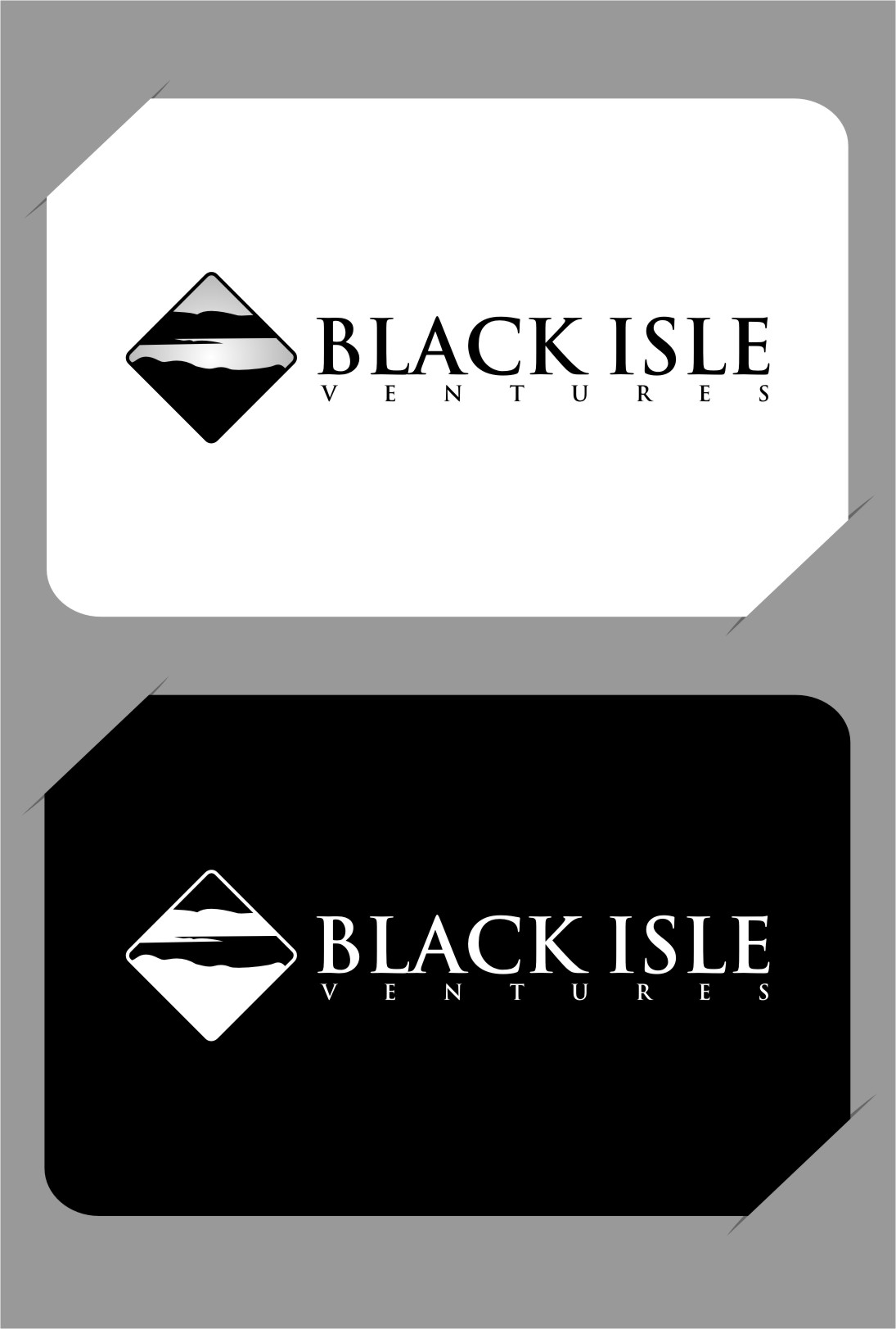 Logo Design by RasYa Muhammad Athaya - Entry No. 101 in the Logo Design Contest Creative Logo Design for Black Isle Ventures.