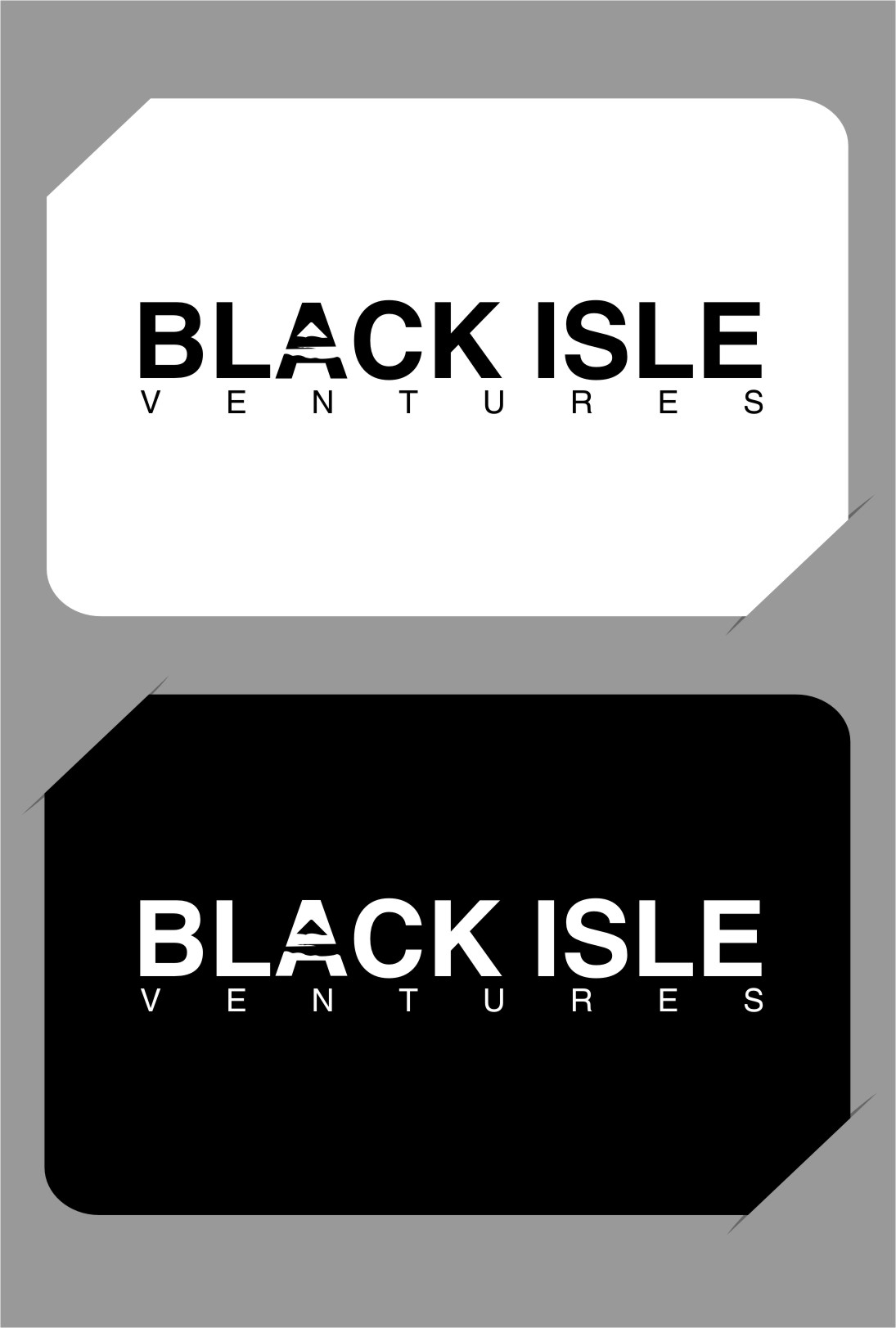 Logo Design by RasYa Muhammad Athaya - Entry No. 102 in the Logo Design Contest Creative Logo Design for Black Isle Ventures.