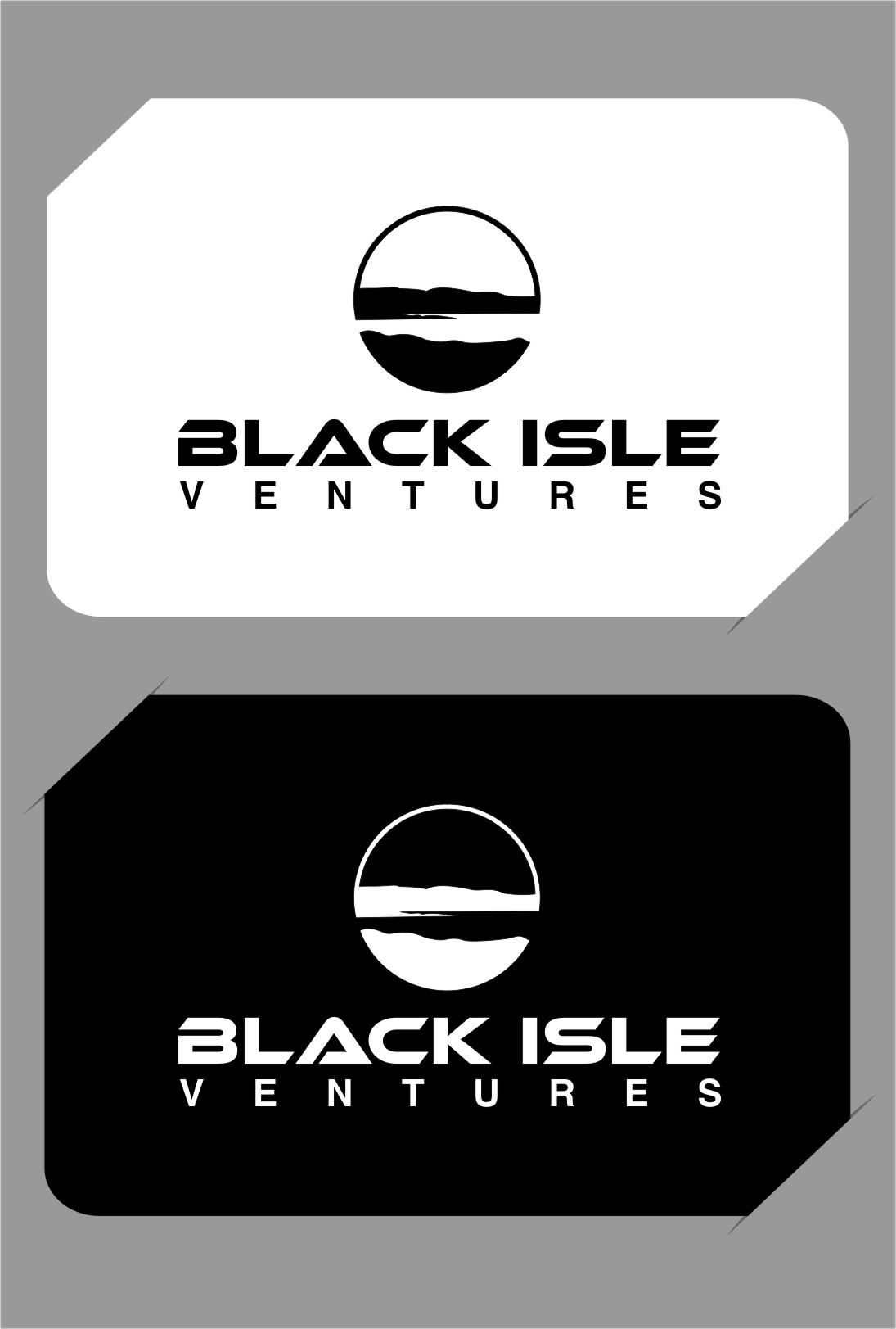 Logo Design by RasYa Muhammad Athaya - Entry No. 105 in the Logo Design Contest Creative Logo Design for Black Isle Ventures.