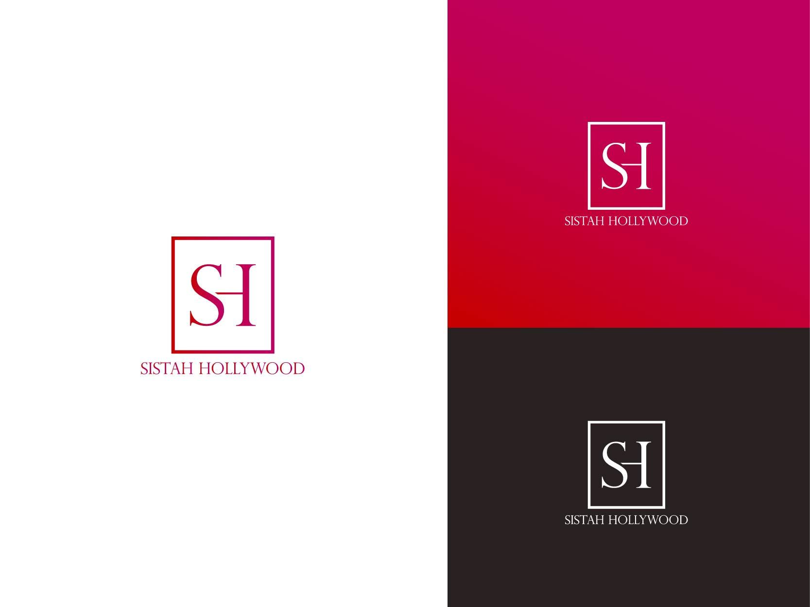 Logo Design by Osi Indra - Entry No. 10 in the Logo Design Contest New Logo Design for Sistah Hollywood.