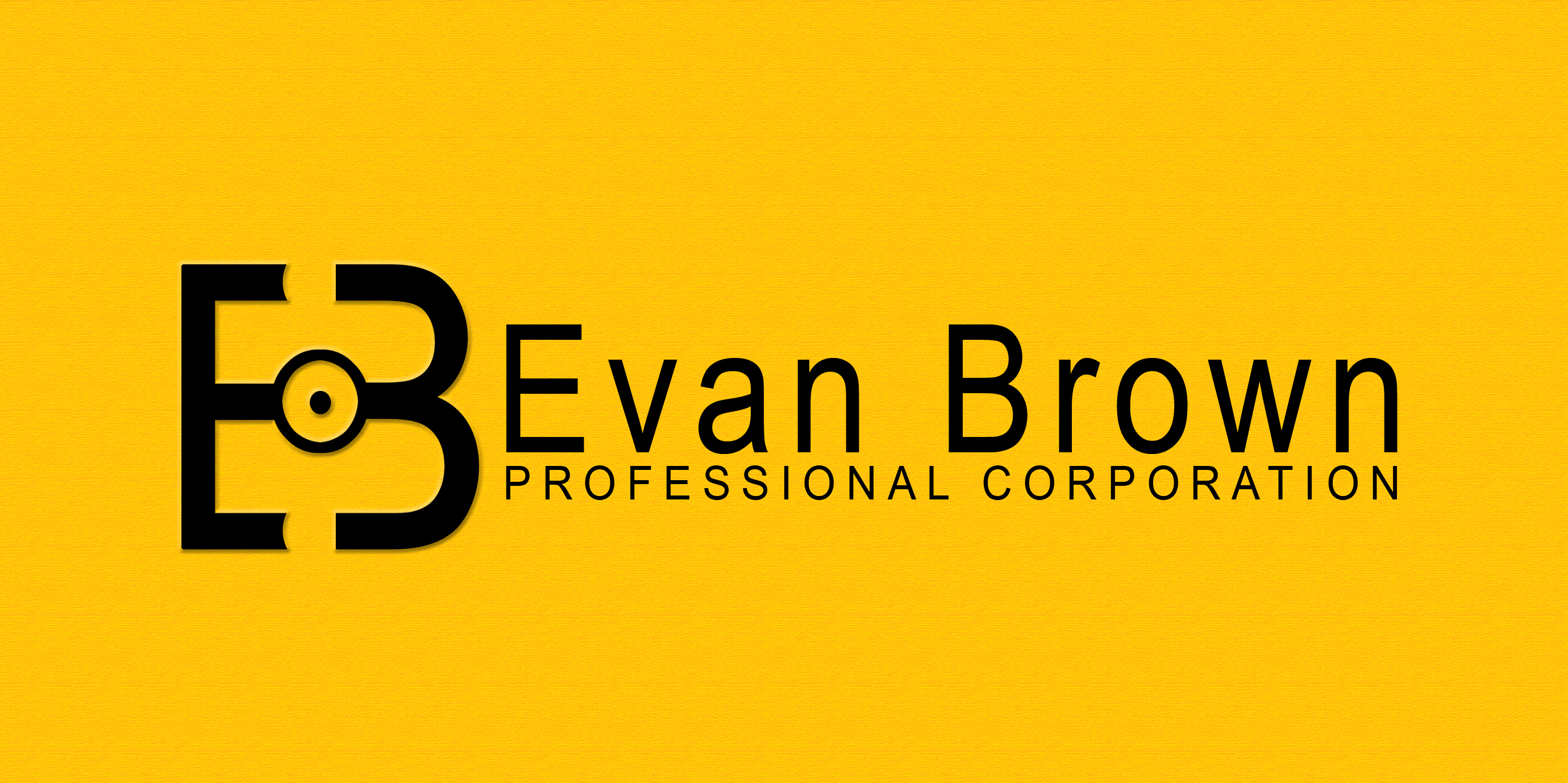 Logo Design by Vineeth K V - Entry No. 42 in the Logo Design Contest Inspiring Logo Design for Evan Brown Professional Corporation.