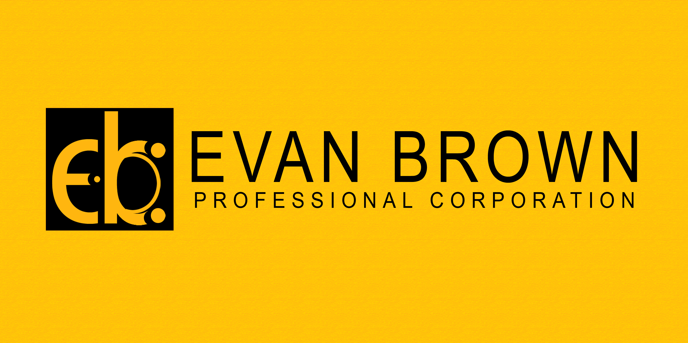 Logo Design by Vineeth K V - Entry No. 43 in the Logo Design Contest Inspiring Logo Design for Evan Brown Professional Corporation.