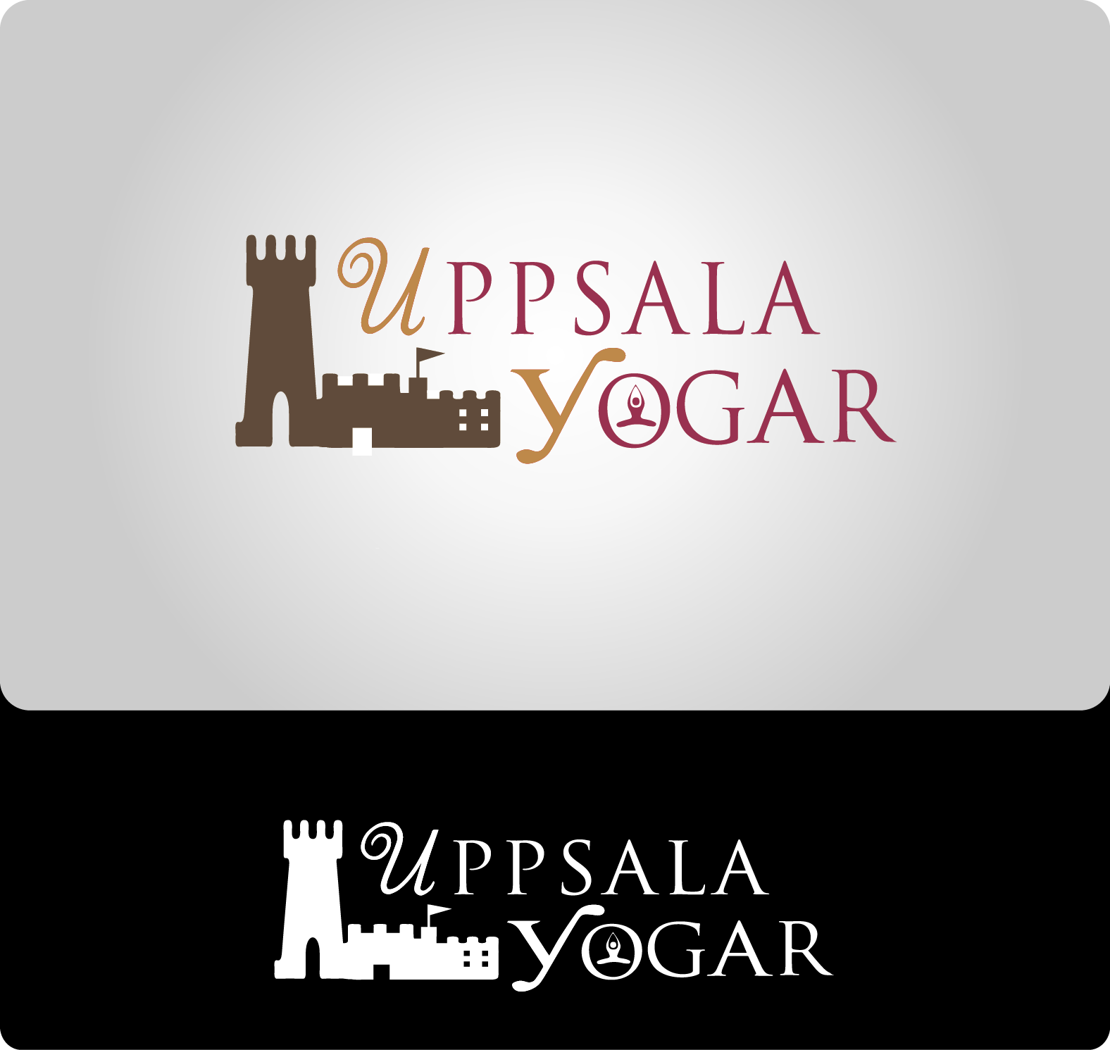 Logo Design by Maninder pal Singh - Entry No. 24 in the Logo Design Contest Unique Logo Design Wanted for Uppsala Yogar.