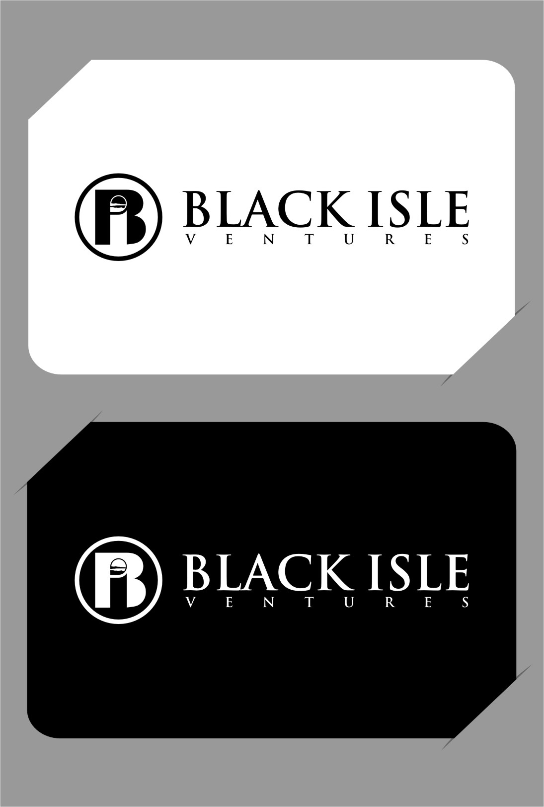 Logo Design by RasYa Muhammad Athaya - Entry No. 109 in the Logo Design Contest Creative Logo Design for Black Isle Ventures.