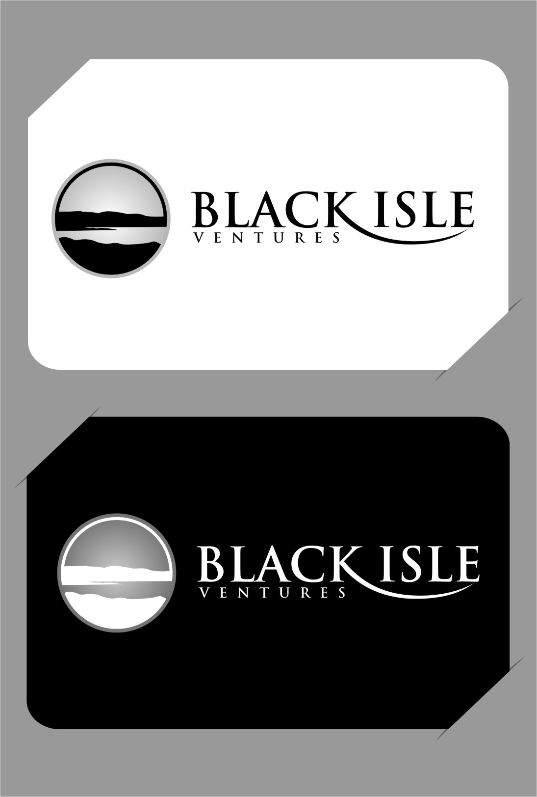 Logo Design by RoSyid Rono-Rene On Java - Entry No. 110 in the Logo Design Contest Creative Logo Design for Black Isle Ventures.