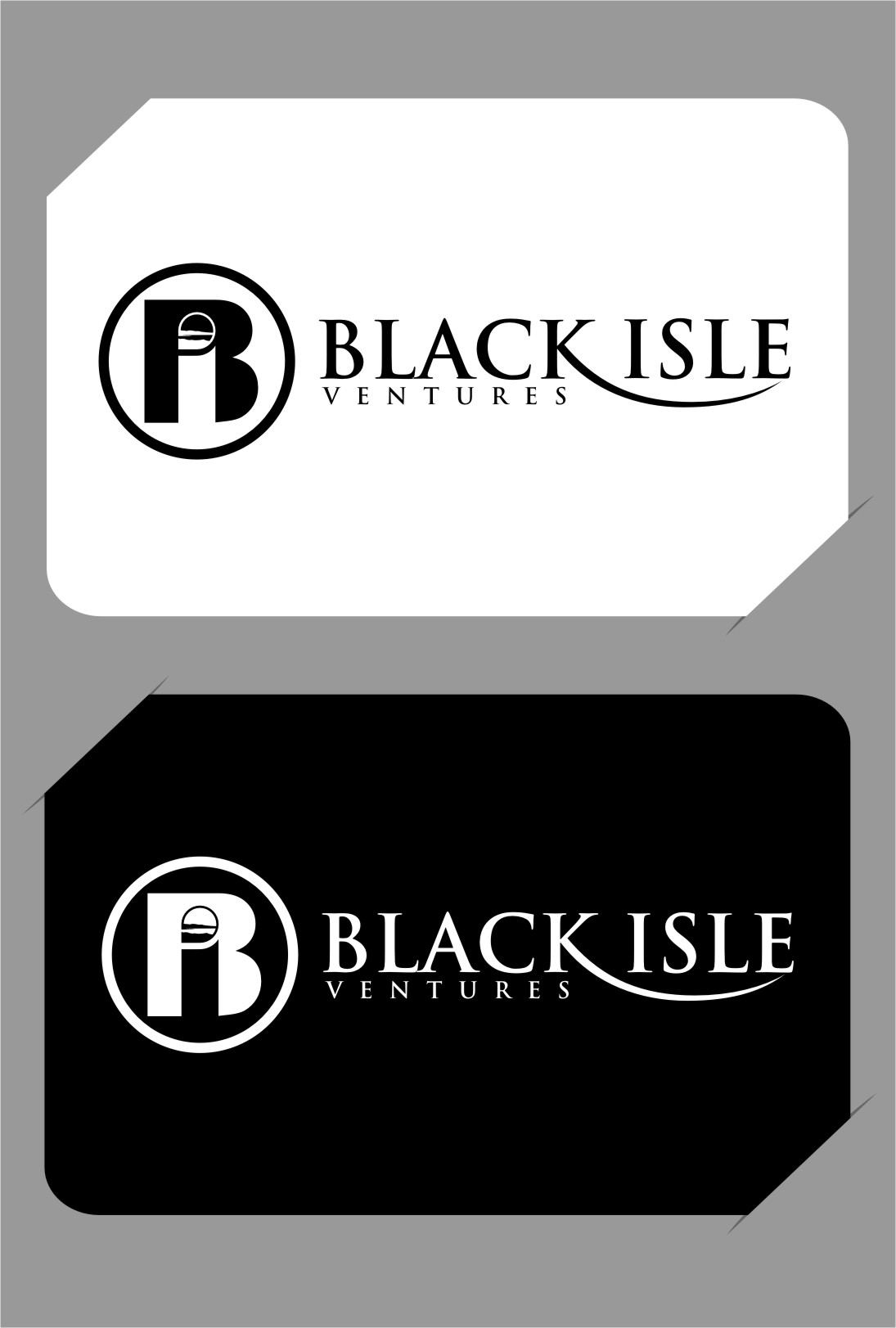 Logo Design by RasYa Muhammad Athaya - Entry No. 111 in the Logo Design Contest Creative Logo Design for Black Isle Ventures.