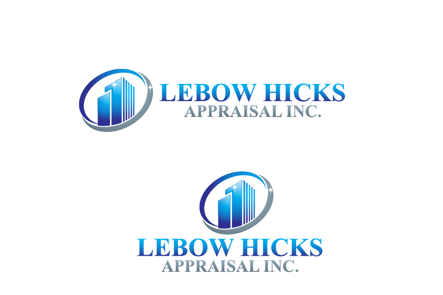 Logo Design by Private User - Entry No. 82 in the Logo Design Contest Fun Logo Design for Lebow, Hicks Appraisal Inc..