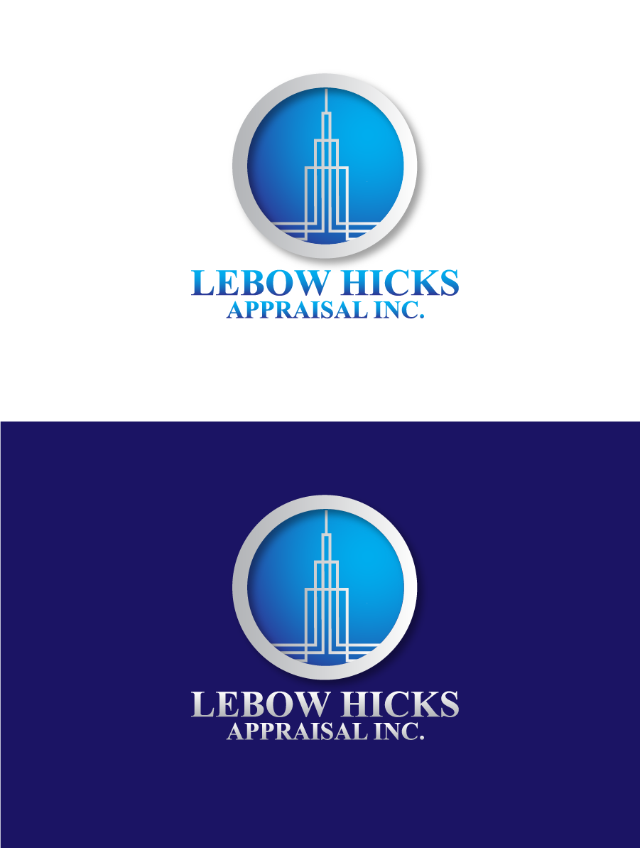 Logo Design by Private User - Entry No. 84 in the Logo Design Contest Fun Logo Design for Lebow, Hicks Appraisal Inc..