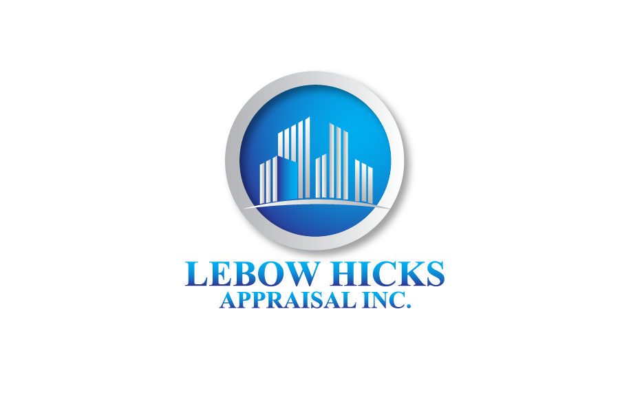 Logo Design by Private User - Entry No. 85 in the Logo Design Contest Fun Logo Design for Lebow, Hicks Appraisal Inc..