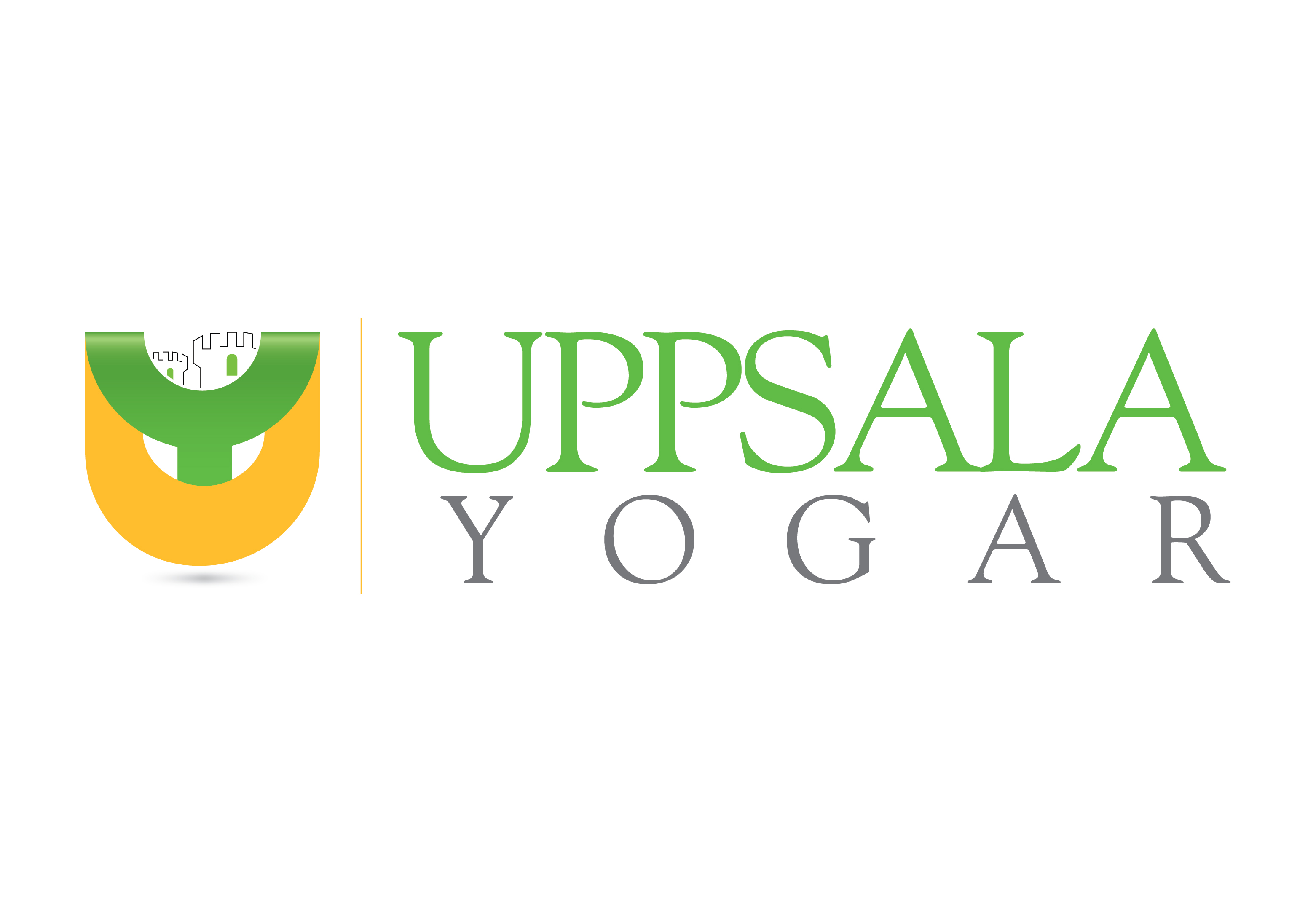 Logo Design by Waseem Haider - Entry No. 26 in the Logo Design Contest Unique Logo Design Wanted for Uppsala Yogar.