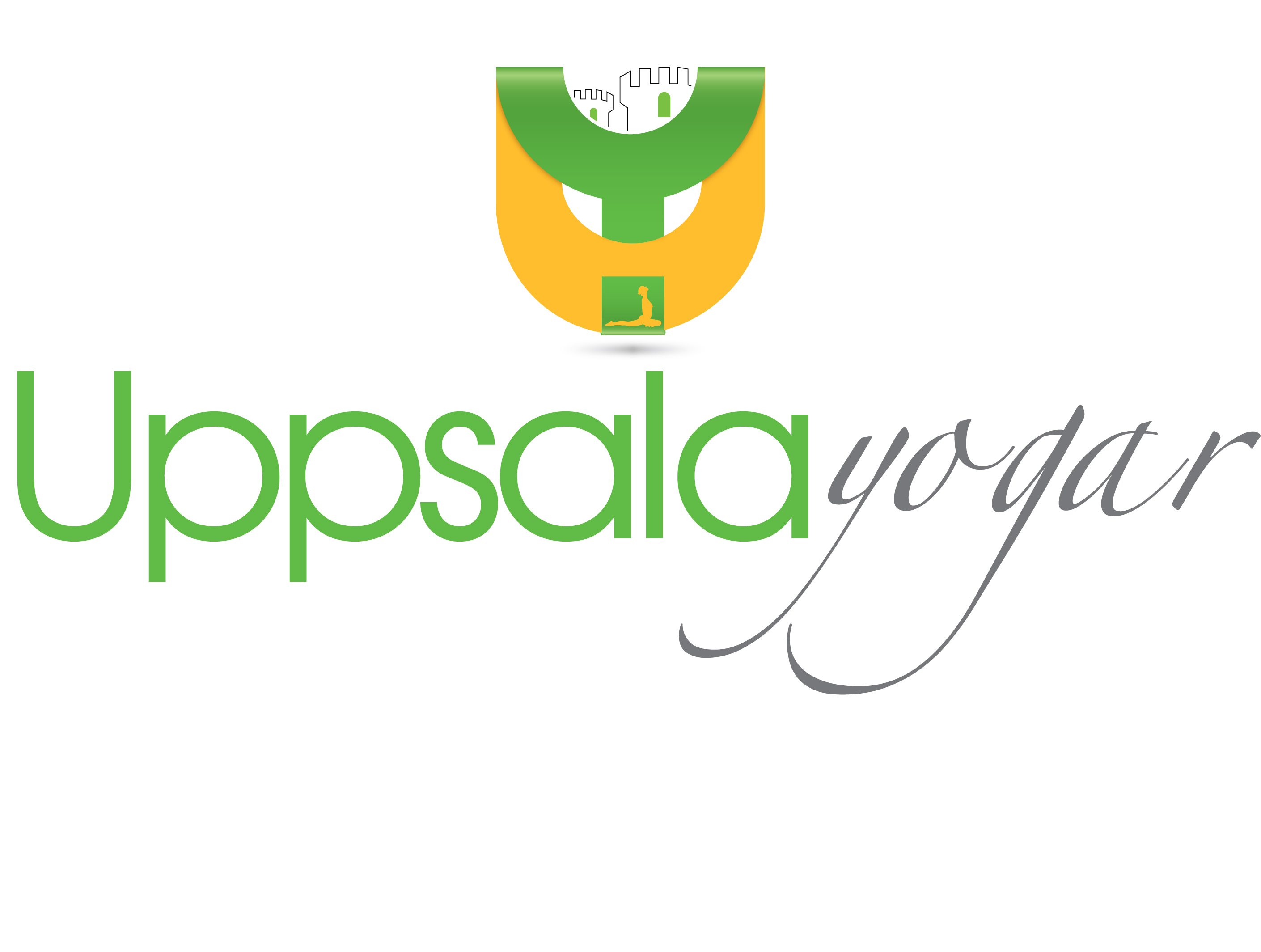 Logo Design by Waseem Haider - Entry No. 28 in the Logo Design Contest Unique Logo Design Wanted for Uppsala Yogar.