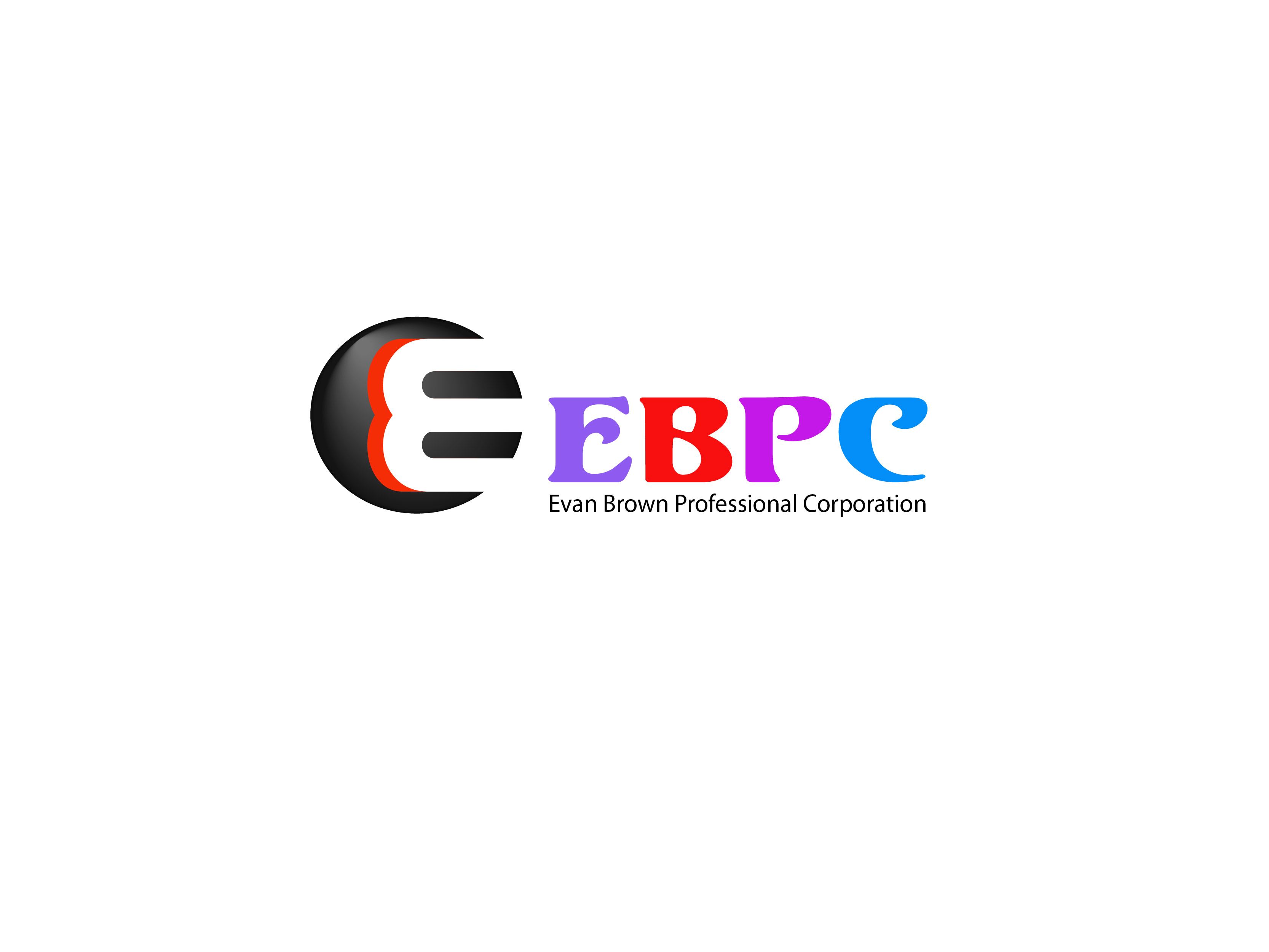 Logo Design by Kishor Patil - Entry No. 47 in the Logo Design Contest Inspiring Logo Design for Evan Brown Professional Corporation.