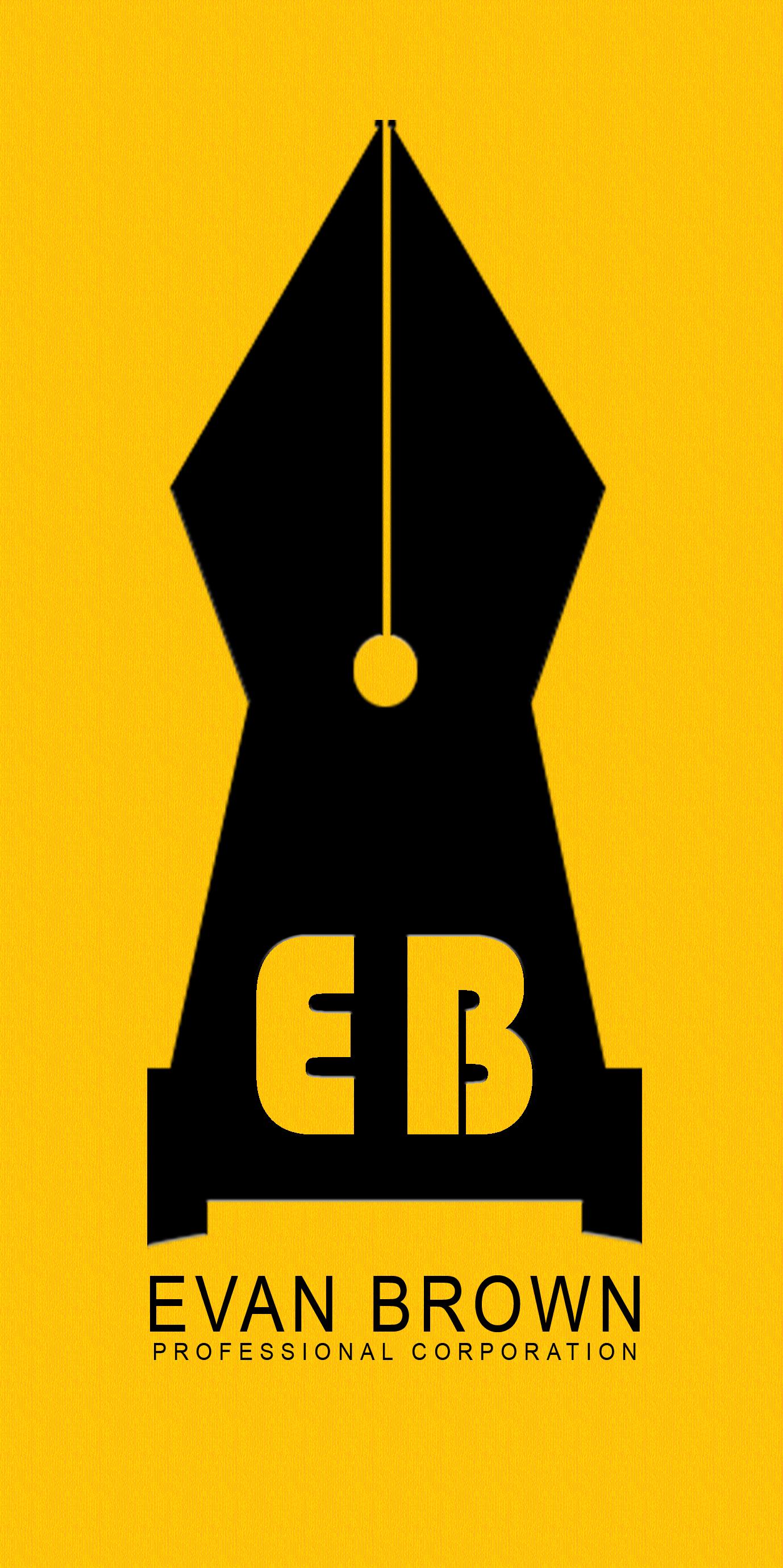 Logo Design by Vineeth K V - Entry No. 48 in the Logo Design Contest Inspiring Logo Design for Evan Brown Professional Corporation.