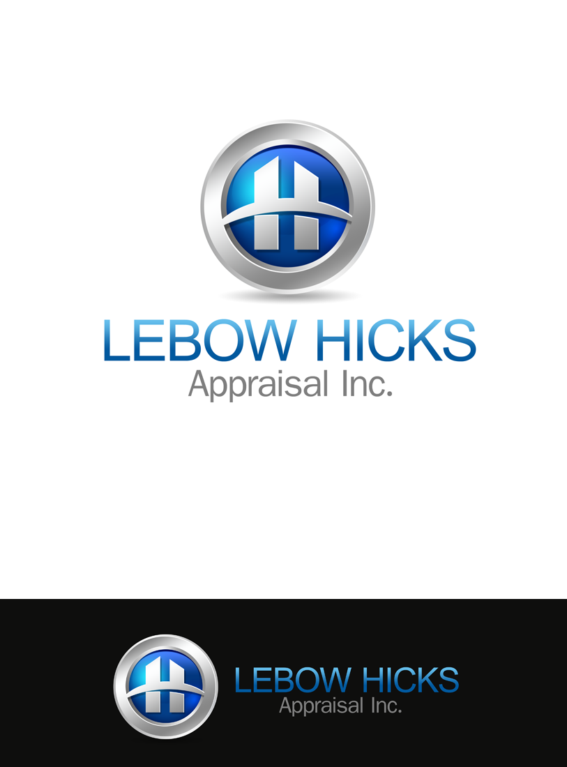Logo Design by Private User - Entry No. 90 in the Logo Design Contest Fun Logo Design for Lebow, Hicks Appraisal Inc..