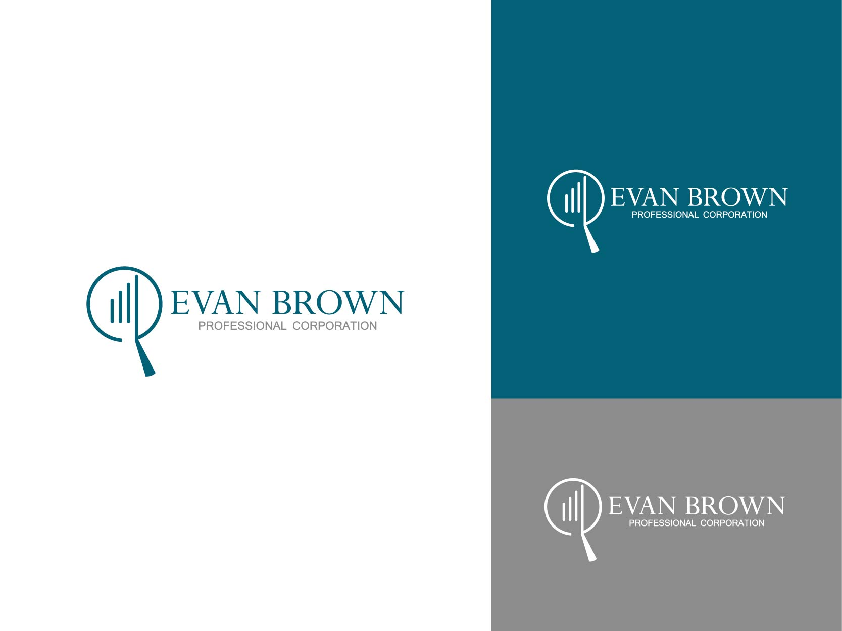 Logo Design by Osi Indra - Entry No. 49 in the Logo Design Contest Inspiring Logo Design for Evan Brown Professional Corporation.