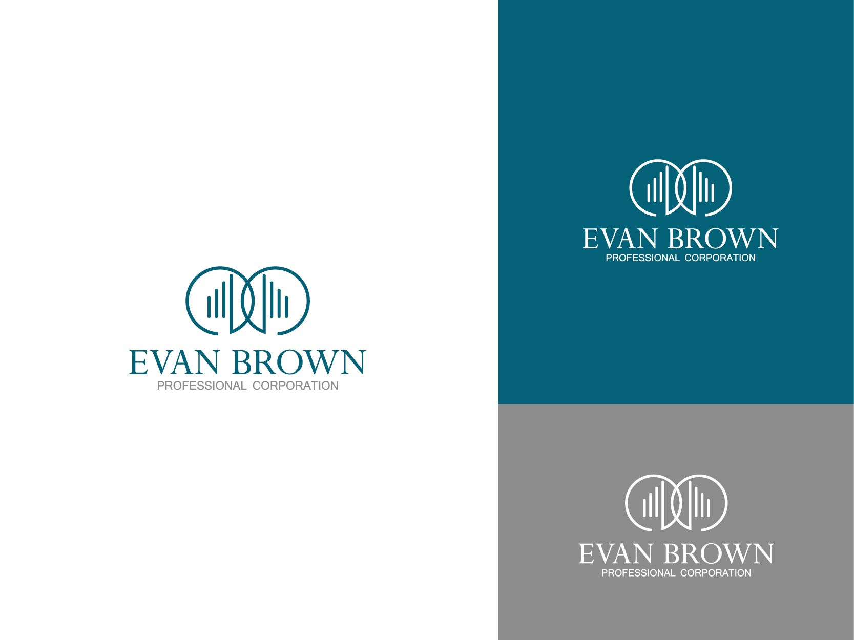 Logo Design by Osi Indra - Entry No. 50 in the Logo Design Contest Inspiring Logo Design for Evan Brown Professional Corporation.