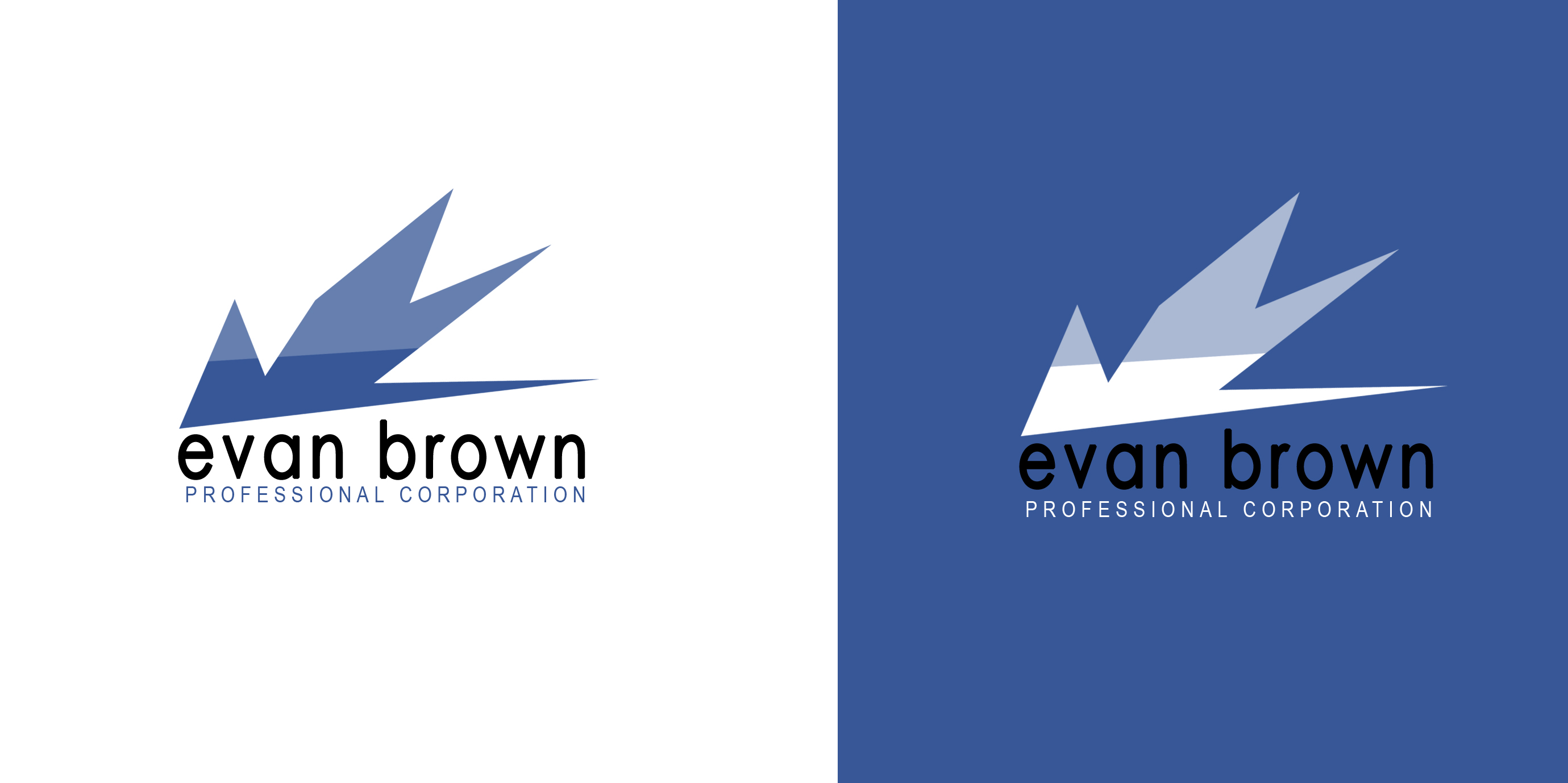 Logo Design by Vineeth K V - Entry No. 51 in the Logo Design Contest Inspiring Logo Design for Evan Brown Professional Corporation.