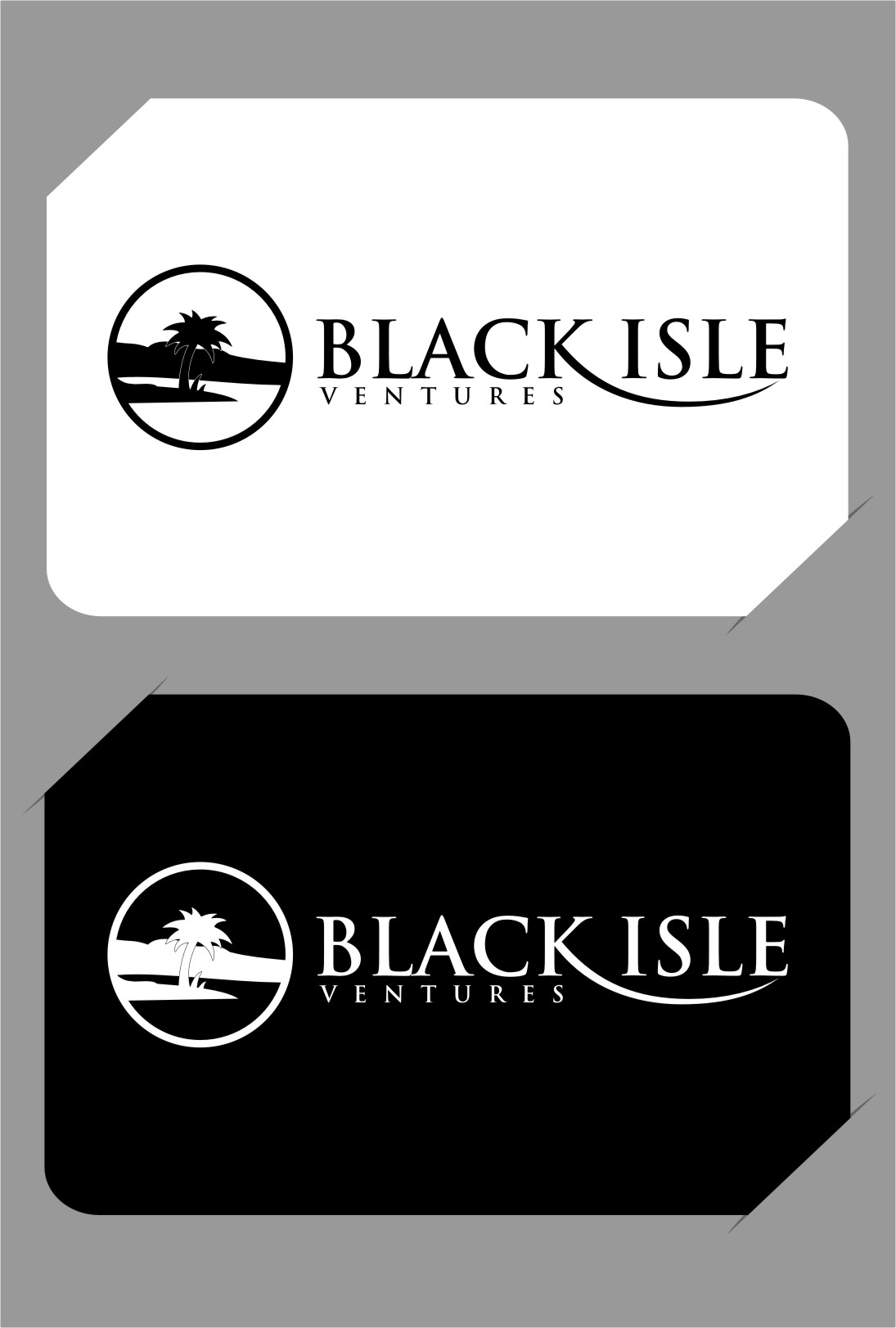 Logo Design by RasYa Muhammad Athaya - Entry No. 114 in the Logo Design Contest Creative Logo Design for Black Isle Ventures.
