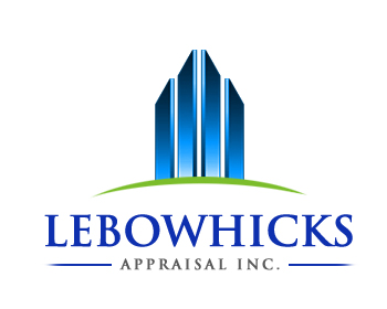 Logo Design by Crystal Desizns - Entry No. 91 in the Logo Design Contest Fun Logo Design for Lebow, Hicks Appraisal Inc..