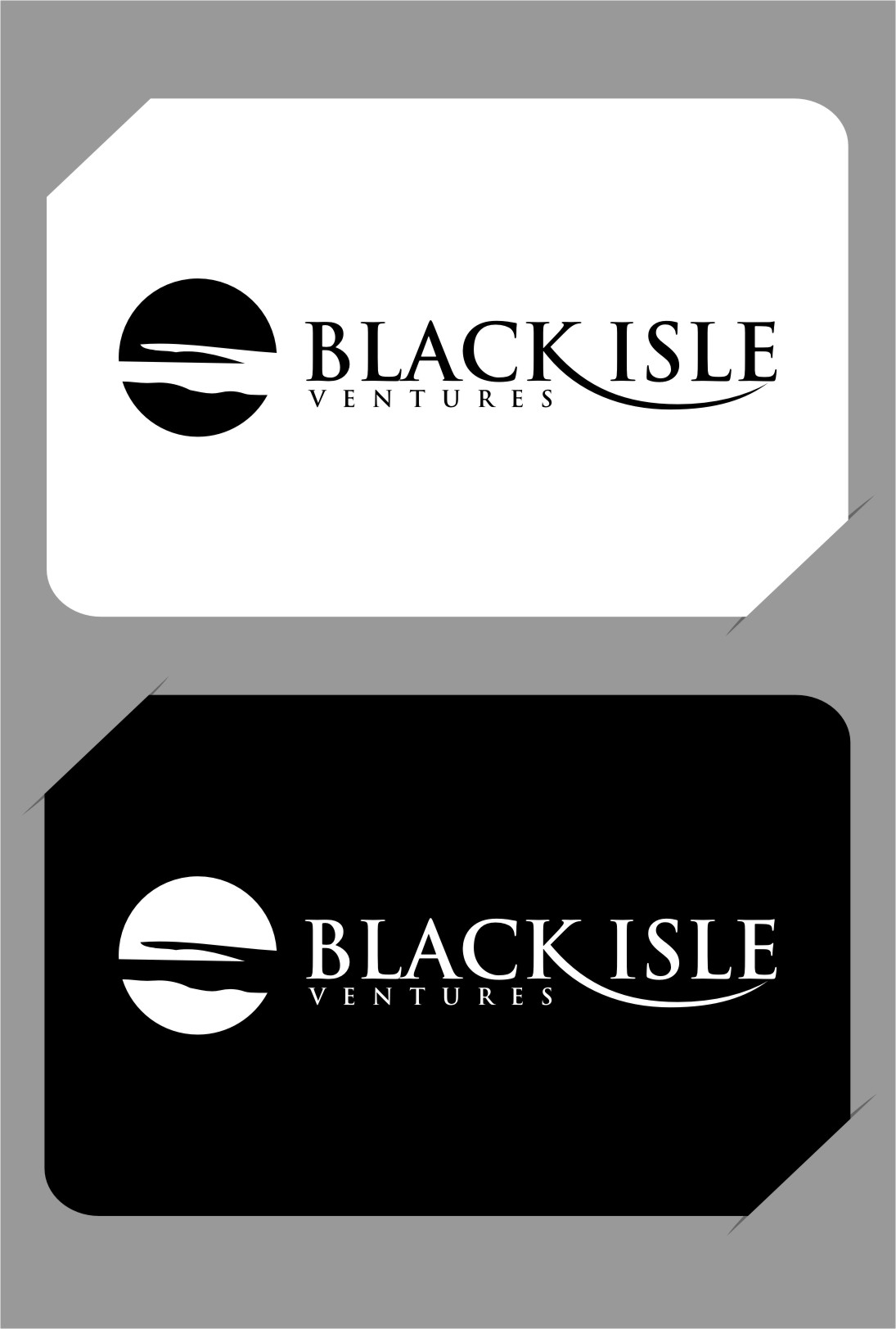 Logo Design by RasYa Muhammad Athaya - Entry No. 118 in the Logo Design Contest Creative Logo Design for Black Isle Ventures.