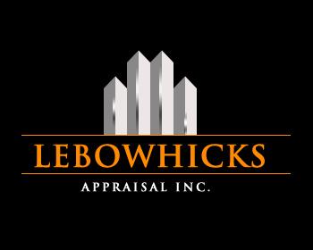 Logo Design by Crystal Desizns - Entry No. 92 in the Logo Design Contest Fun Logo Design for Lebow, Hicks Appraisal Inc..