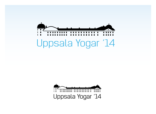 Logo Design by Private User - Entry No. 33 in the Logo Design Contest Unique Logo Design Wanted for Uppsala Yogar.