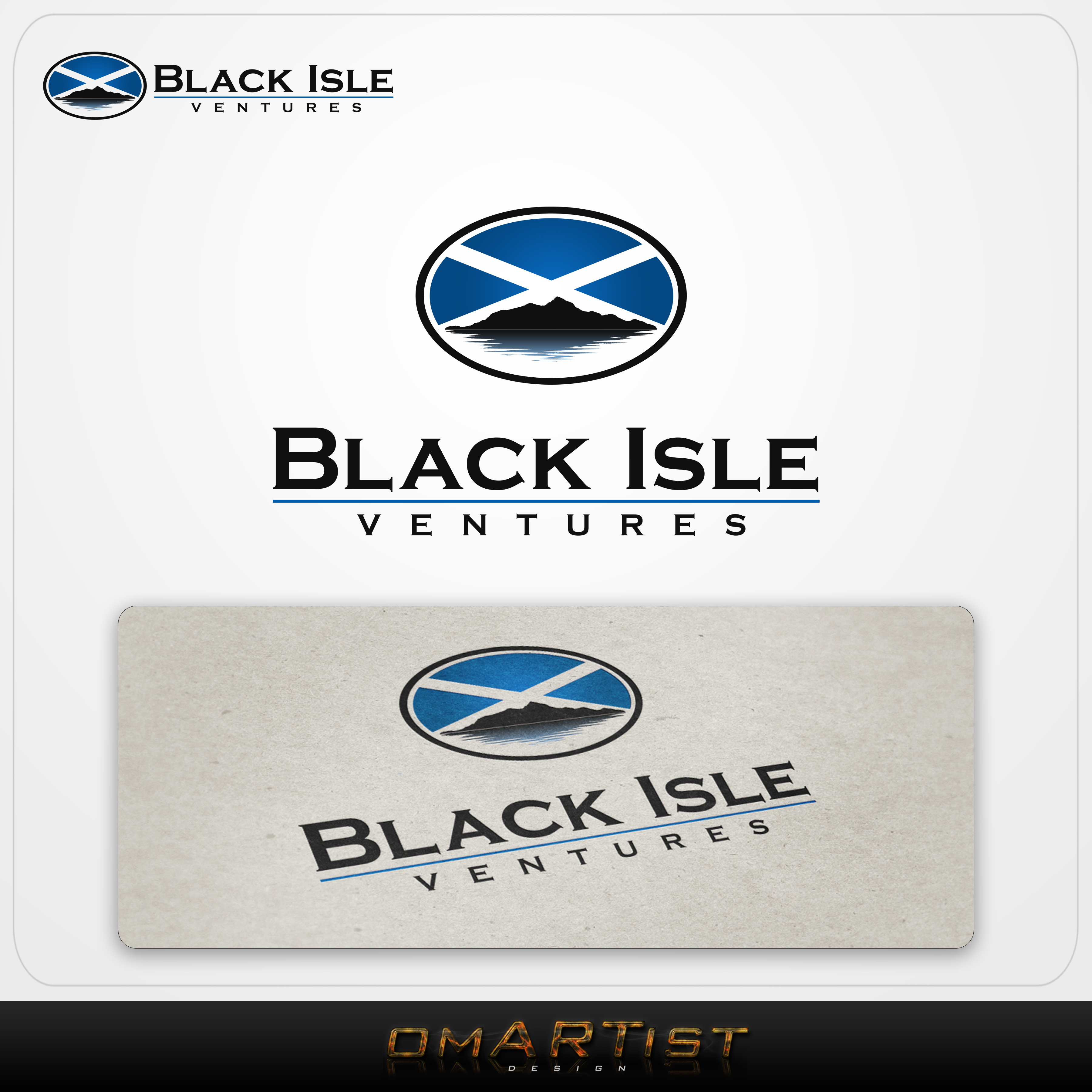 Logo Design by omARTist - Entry No. 120 in the Logo Design Contest Creative Logo Design for Black Isle Ventures.