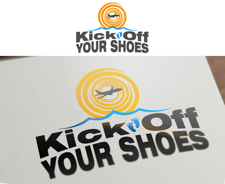 Logo Design by Juan_Kata - Entry No. 20 in the Logo Design Contest New Logo Design for Kick Off Your Shoes.