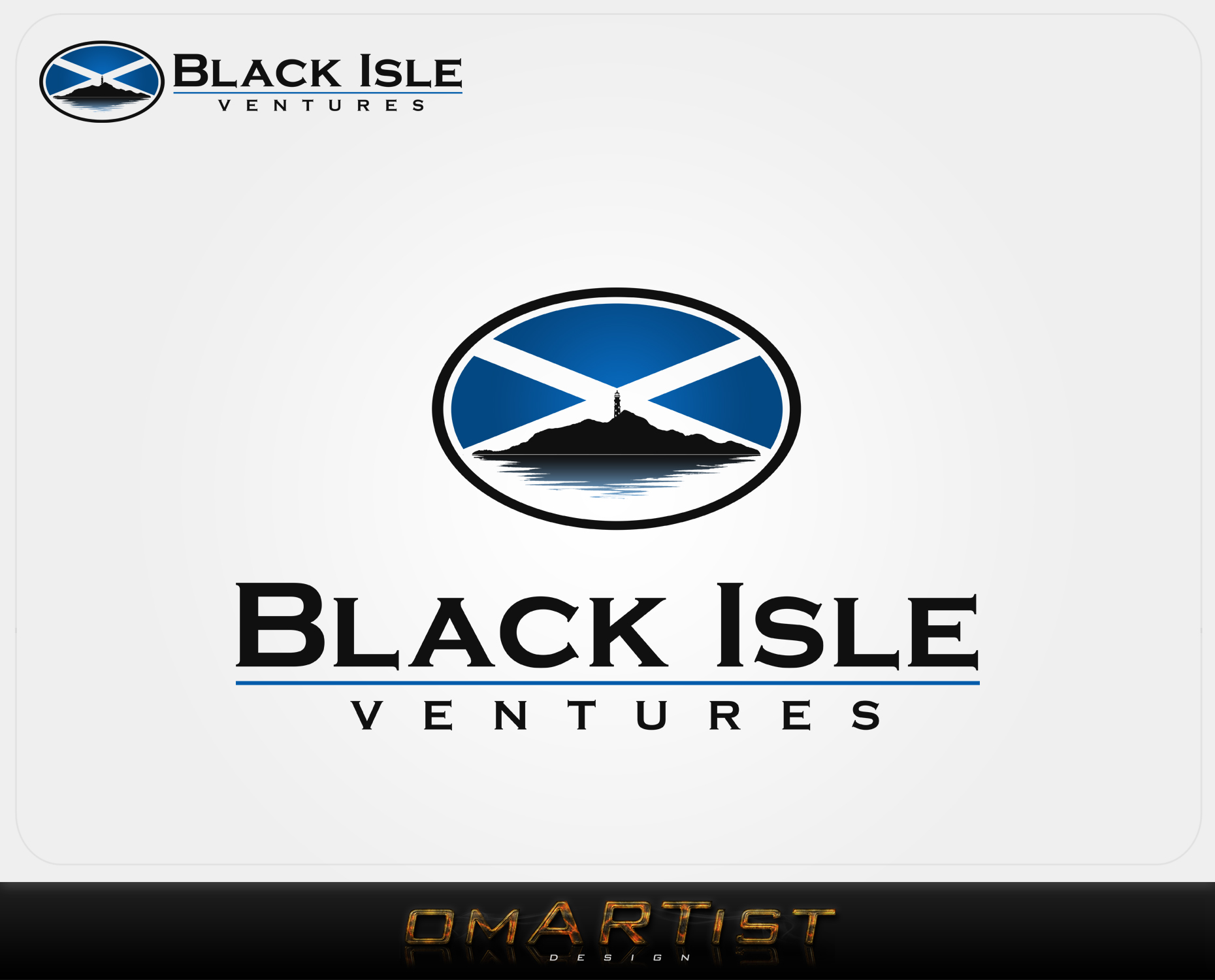Logo Design by omARTist - Entry No. 126 in the Logo Design Contest Creative Logo Design for Black Isle Ventures.