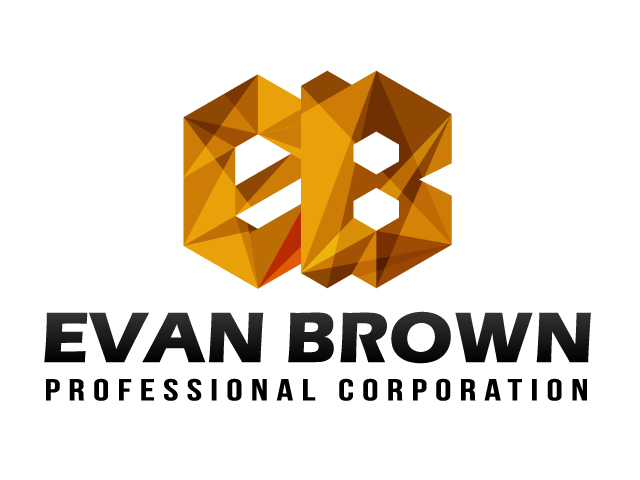 Logo Design by ronik.web - Entry No. 55 in the Logo Design Contest Inspiring Logo Design for Evan Brown Professional Corporation.