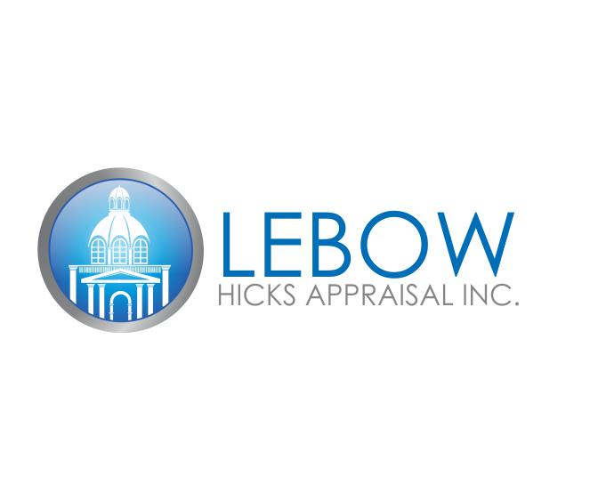 Logo Design by ronny - Entry No. 98 in the Logo Design Contest Fun Logo Design for Lebow, Hicks Appraisal Inc..