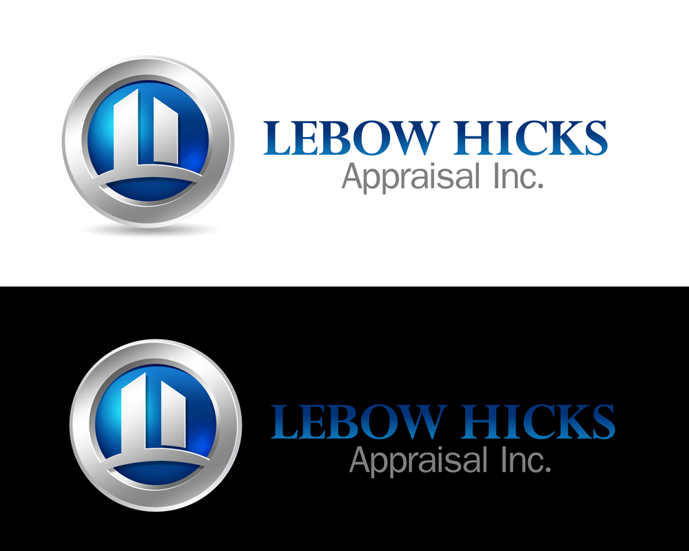 Logo Design by Private User - Entry No. 102 in the Logo Design Contest Fun Logo Design for Lebow, Hicks Appraisal Inc..