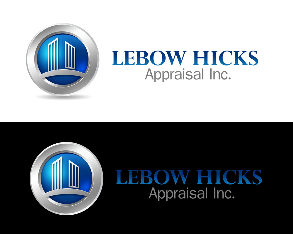 Logo Design by Private User - Entry No. 103 in the Logo Design Contest Fun Logo Design for Lebow, Hicks Appraisal Inc..