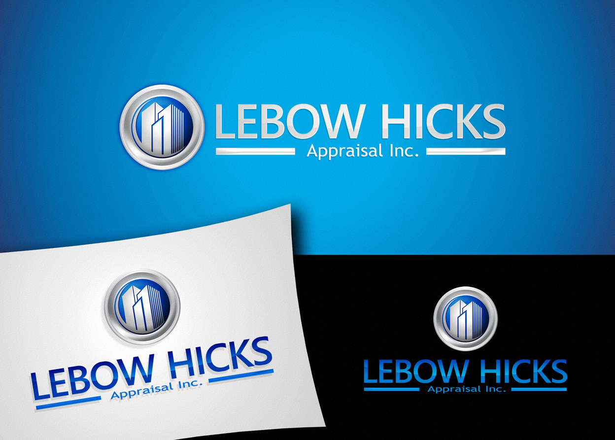 Logo Design by Private User - Entry No. 106 in the Logo Design Contest Fun Logo Design for Lebow, Hicks Appraisal Inc..