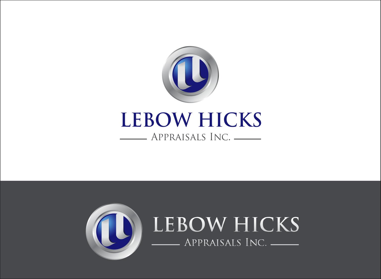 Logo Design by Armada Jamaluddin - Entry No. 107 in the Logo Design Contest Fun Logo Design for Lebow, Hicks Appraisal Inc..
