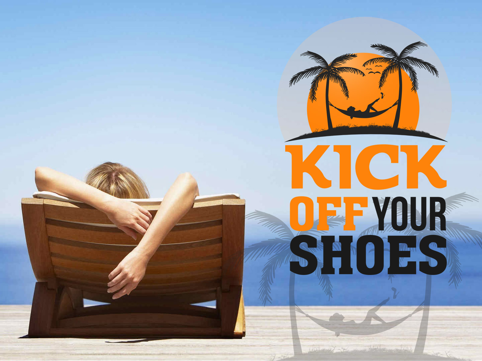 Logo Design by olii - Entry No. 27 in the Logo Design Contest New Logo Design for Kick Off Your Shoes.