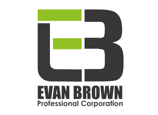 Logo Design by Ismail Adhi Wibowo - Entry No. 56 in the Logo Design Contest Inspiring Logo Design for Evan Brown Professional Corporation.