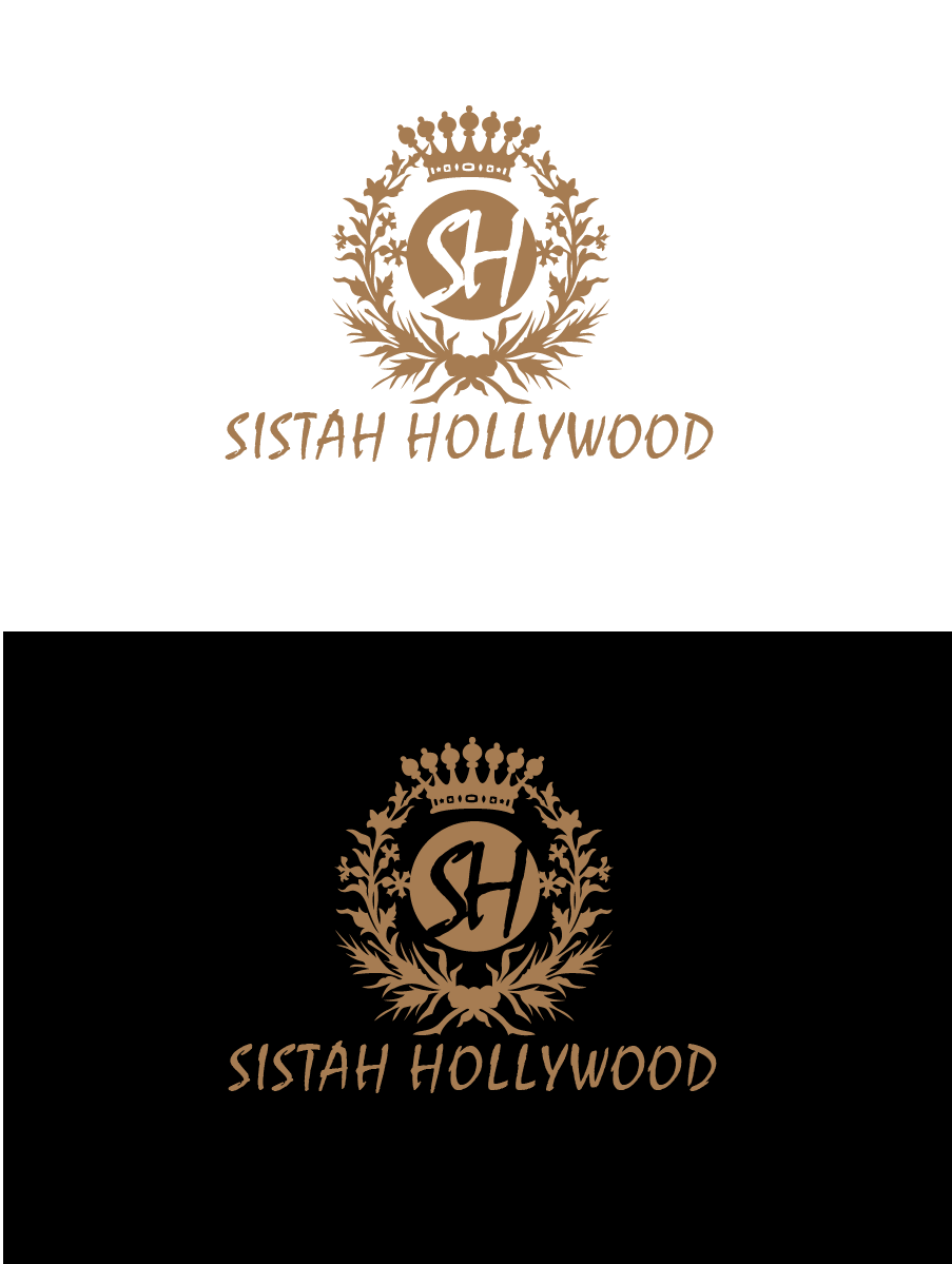 Logo Design by Private User - Entry No. 27 in the Logo Design Contest New Logo Design for Sistah Hollywood.