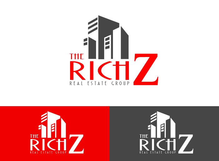 Logo Design by Jan Chua - Entry No. 351 in the Logo Design Contest The Rich Z. Real Estate Group Logo Design.