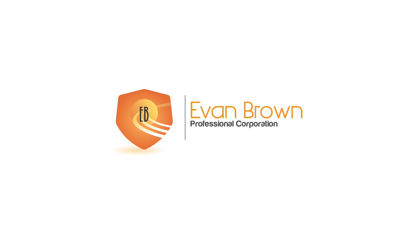 Logo Design by Jagdeep Singh - Entry No. 58 in the Logo Design Contest Inspiring Logo Design for Evan Brown Professional Corporation.