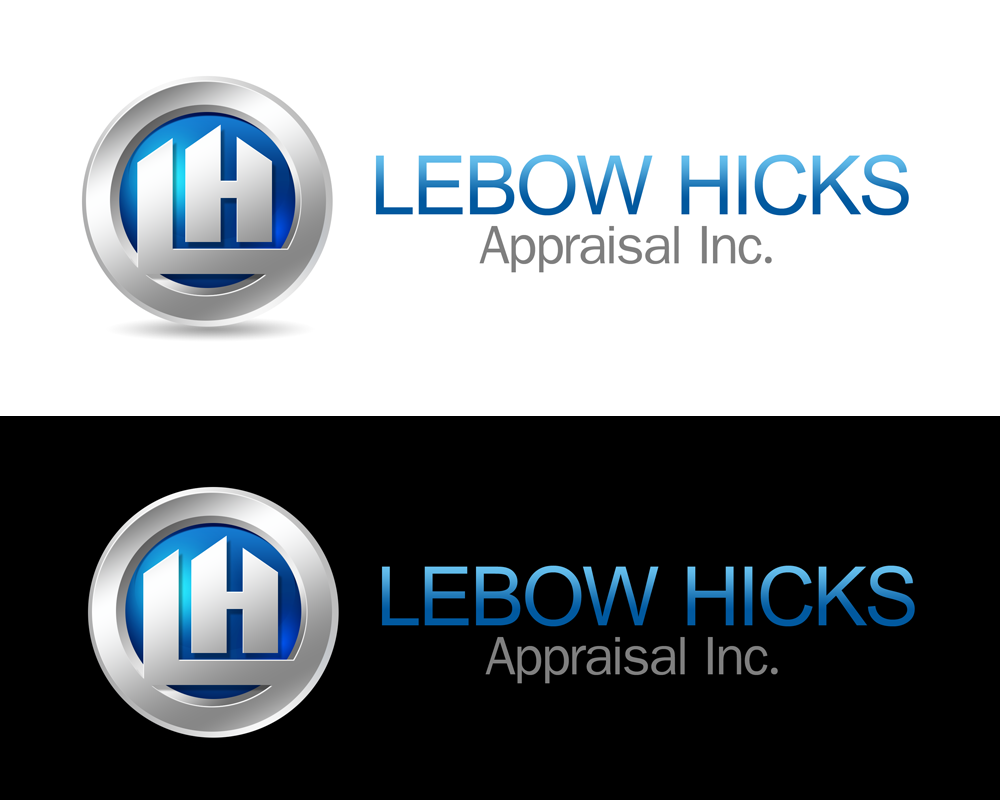 Logo Design by Private User - Entry No. 108 in the Logo Design Contest Fun Logo Design for Lebow, Hicks Appraisal Inc..