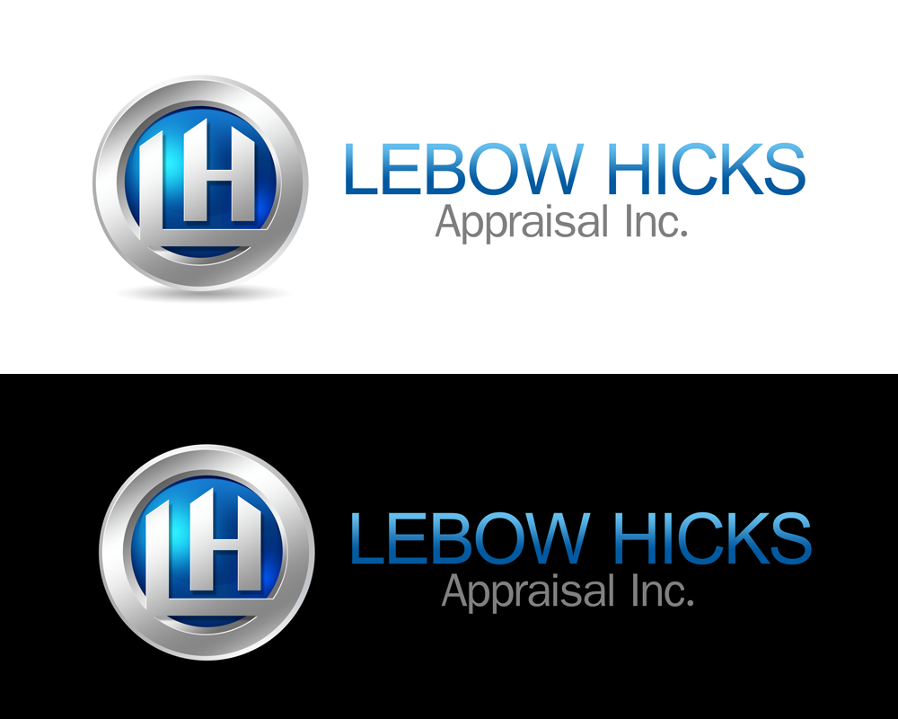 Logo Design by Private User - Entry No. 109 in the Logo Design Contest Fun Logo Design for Lebow, Hicks Appraisal Inc..