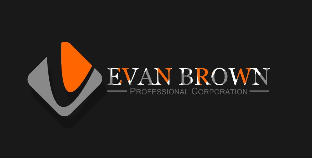 Logo Design by Crispin Jr Vasquez - Entry No. 59 in the Logo Design Contest Inspiring Logo Design for Evan Brown Professional Corporation.